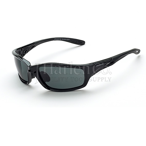 f143f07c1361 J Harlen Co. - Crossfire Infinity Smoke Lens Safety Glasses