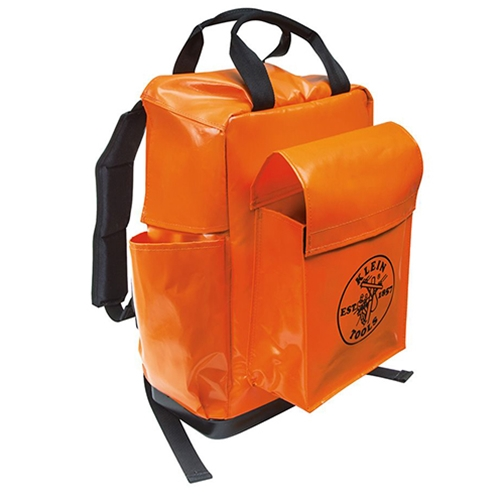 Klein Lineman's Vinyl Backpack
