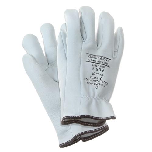 Voltage Rated Gloves : J harlen co kunz low voltage leather glove protectors