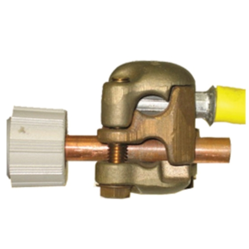 Hastings 4-Way Bronze Tee Connector