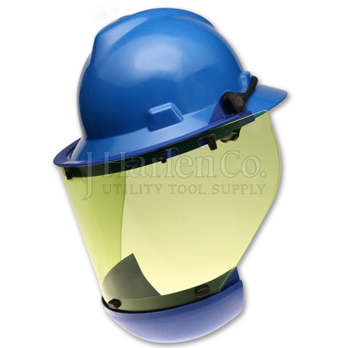 J Harlen Co. - Paulson Arc Shield For Full Brim Hard Hat With Chin Guard 26e87bcc307