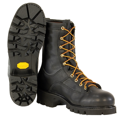 "Hall's 8"" Composite Toe, Lace-To-Toe Lineman's Boot 947W"
