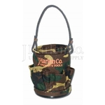 "Camo 5"" x 6"" Canvas Mini-Bucket"