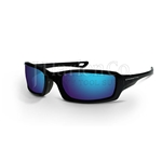 Crossfire M6A Blue Mirror Lens Safety Glasses