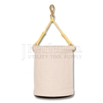 Basic Canvas Bucket With Swivel Snap