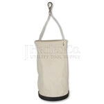 "Deep Canvas Bucket 12"" x 22"" With Swivel Snap"