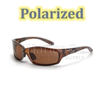 Crossfire Infinity HD Brown Polarized Lens Safety Glasses