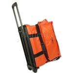 Large Travel Size Gear Bag With Luggage Handle and Wheels