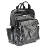 Heavy Duty Black Vinyl Equipment Backpack