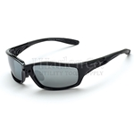 Crossfire Infinity Silver Mirror Lens Safety Glasses