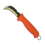 Jameson Hawkbill Skinning Knife With Orange Handle