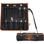 Klein 13 Piece Insulated Tool Kit In Roll-Up Tote
