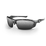Crossfire TL11 Silver Mirror Lens With Pearl Gray Frame Safety Glasses