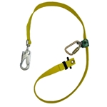 Buckingham 8' Adjustable Web Lanyard with WebGrab