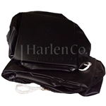 Vinyl Bucket Cover, 1-Man, Foam Backed
