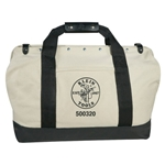 "Klein 20"" Leather Bottom Canvas Tool Bag"