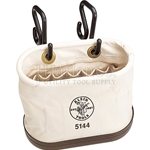 Klein Aerial Oval Bucket With Hooks