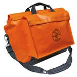 "Klein Waterproof Large 24"" Orange Equipment Bag"