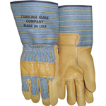 "Carolina 4"" Cuff Grain Cowhide Work Glove"
