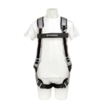 Buckingham H-Style Arc Rated Harness With Shoulder Pads