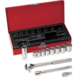 "Klein 12-Piece 3/8"" Drive Socket Set"