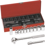 "Klein 12-Piece 1/2"" Drive Socket Set"