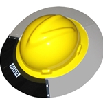 Sun Shield By MSA For V-Gard Full Brim Hard Hat