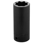 "Proto 13/16"" 8-Point 1/2""-Drive Deep Impact Socket"