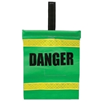 Hook-N-Loop Reflective Danger Flag