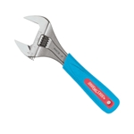 "Channellock 8"" Code Blue Extra Wide Jaw Adjustable Wrench"