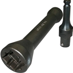Lowell Triple Square Impact Socket With Adapter