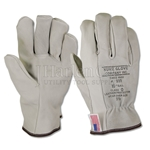 Kunz Low Voltage Leather Glove Protectors
