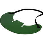 Clip-On Green Tinted Sun Shade Visor