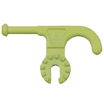 Hastings Florescent Yellow Universal Disconnect Hook