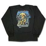 """American Lineman"" Black Long Sleeve Tee CLOSEOUT"