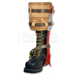 Bashlin Steel CCA Climbers With Dual Strap Leather Pads