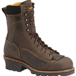 "Carolina 8"" Waterproof Lace-To-Toe EH Logger Boot"