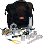 13-Piece Prep Kit For Large 15KV 220mil Primary Cable