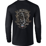 """Power The Nation"" Black Long Sleeve Tee CLOSEOUT"