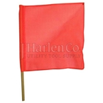 "Safety Flag 18"" Bright Orange Mesh Warning Flag"