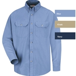 Bulwark FR Cool Touch 2 Button Front Deluxe Shirt