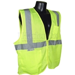 Class 2 Safety Vest Zip Front