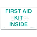 "Safety Label ""First Aid Kit Inside"""
