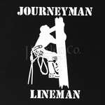 """Journeyman Lineman"" Window Decal"