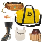 Bashlin Pro Lineman's Climbing Package