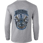 J Harlen Gray Long Sleeve Tee CLOSEOUT