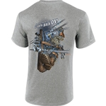 """Lights Back On!"" Gray Short Sleeve Tee CLOSEOUT"