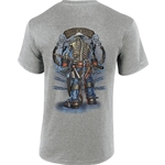 """Backbone of America"" Gray Short Sleeve Tee CLOSEOUT"