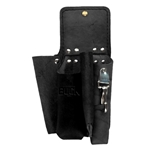 Buckingham 4 Tool Black Leather Pouch