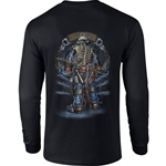 """Backbone of America"" Black Long Sleeve Tee CLOSEOUT"